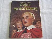 Vintage Sheet Music -Treasure Chest Songs Of Sacred Beauty