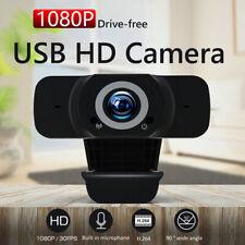 Videocámara de pantalla ancha con cámara web USB HD 1080P para computadora PC