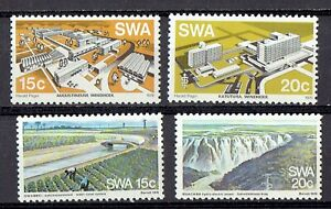 1976 SOUTH WEST AFRICA  Buildings & Water of Windhoek SC 394/97 MNH