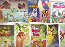 12 cartes postales NEUVES des FILMS  DISNEY MICKEY minnie donald dessin animé