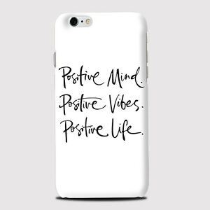 Positive Mind Quote Phone Case Cover