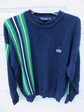 Vintage 90s Nautica Color Striped Sailing Streetwear Sweater J US2 Racing Sz.Lrg