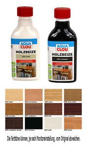 Clou Holzbeize AQUA CLOU B11 0,25L Wasserbeize Beize Möbelbeize Tischlerbeize