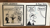 Funny Business Comic Strip By Rog Bollen Daily Original Strip Comicstrip