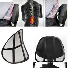 Asiento lumbar cojin dolor espalda respaldo malla corrector coche casa oficina