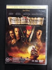 Pirates Of The Caribbean The Curse Of The Black Pearl DVD - Region 4 - 2 Disc