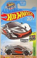 2018 Hot Wheels #15 Walmart Zamac HW Exotics 4/10 McLAREN P1 w/Black Pr5 Spoke