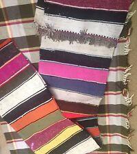 Persian kilim/rug Qumm/qomm handmade/handwoven 21' x 2'