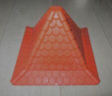 Playmobil Toit rouge   NEUF  pour tour de Château 3666 4865