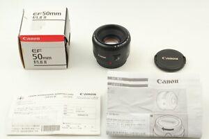 [MINT in BOX] CANON EF 50mm f/1.8 II Standard Prime AF Lens ef Mount JAPAN #24