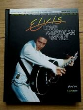 RARE ELVIS PRESLEY BOOK/CD SET - LOVE AMERICAN STYLE - GRAVEL ROAD MUSIC