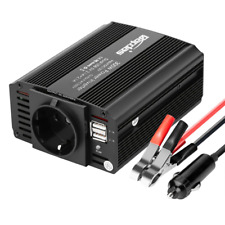 Bapdas 300W Convertisseur Transformateur DC 12V AC 220V-240V, Ports USB Dual 5V