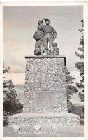 California Ca Postcardc1940s TRUCKEE Real photo RPPC DONNER MEMORIAL Monument