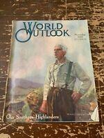 November 1919 World Outlook Magazine Volume 5 Number 11 Our Southern Highlanders