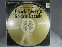 Chuck Berry's Golden Decade Vintage LP Record Album Chess LP 1514D VG/VG+ c G/VG