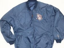 RARE Vintage New Jersey Nets NBA Jacket Sz XL Men's Reversible