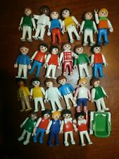 Group Lot 23 Vintage 1981 Geobra Playmobil Children Kids Figures Toys