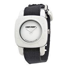 Converse 1908 Matte White Dial Black Canvas Unisex Watch VR-021-001