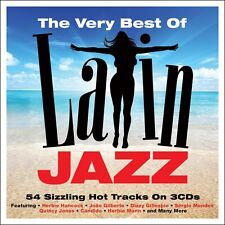 Very Best Of Latin Jazz VARIOUS ARTISTS 54 Essential Songs MUSIC New Sealed 3 CD