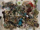25LB Bulk Whole Lot Estate Costume Loose Scrap Junk Jewelry Necklaces Bracelet d