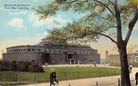 New York City~Aquarium And Battery Park~1910 Postcard