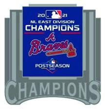 2021 Atlanta Braves National League Broche Est Division Champions World Série