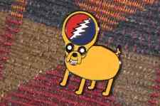 Dead Head Steal Your Jake Cartoon Dog Enamel Lapel Hat Pin