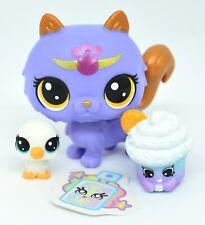 Littlest Pet Shop Lucky Pets Munchkin Cat Purple Sweet Violet Crystal Ball