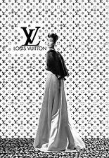 Art Deco Audrey Hepburn Haute Couture  Advert A3 Art Poster Print
