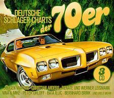 CD Deutsche Golpeador Charts El 70er de Various Artistas 3cds