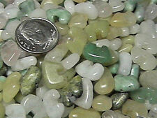 8mm x 12mm Mixed Stone Zuni Bear Beads (20)