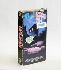 Last House on the Left VHS - Vestron Rental Copy