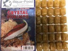 Premium Frozen Fish Food 5 x 100g packs-Crystal Shrimp with vitamins --FREE P&P