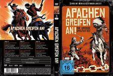 APACHEN GREIFEN AN 6 Western Klassiker JOHN WAYNE Audie Murphy ALAN LADD DVD Neu
