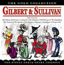 ir Arthur Sullivan - Gilbert and Sullivan: The Gold Collection [CD]