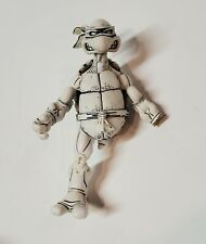 NECA 2008 Teenage Mutant Ninja Turtles Exclusive Black and White LEONARDO (rare)
