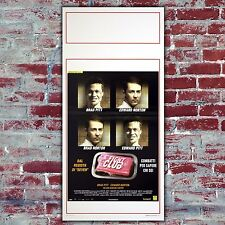 Original Film Poster Fight Club - Size: 33x70 - Brad Pitt, Edward Norton