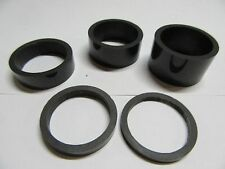 "NEW (5x) Carbon Fiber 3mm/5mm/10mm/15mm/20mm Headset Spacers - 1 1/8"" - NEW!"