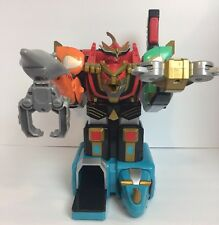 2002 Bandai Power Rangers Wild Force Deluxe Isis Megazord Used Missing Parts