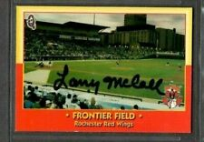 1998 Blueline Red Wings #1 Frontier Field Larry McCall signed autograph