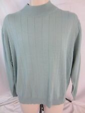 Harve Benard Long Sleeve Lightweight Pull Over Green Sweater - Women's 2X - D221