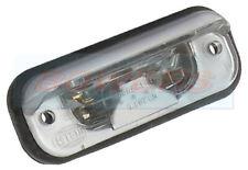 HELLA 2KA001378041 REAR NUMBER PLATE LIGHT/LAMP LICENSE PLATE SILVER FINISH