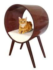 Penn-Plax Modern Cat Bed Round Stylish Cat Furniture for All Breeds and Sizes