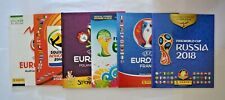 Panini Euro Fifa EM WM 2008-2018 / 6 Sammelalben zum Weitersammeln Top-Zustand