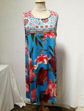 ROBE d'été jersey à fleurs DESIGUAL T.XL JERSEY SUMMER DRESS DESIGUAL size XL