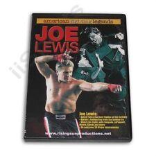 American Karate Fighting Legends Joe Lewis #1 point fighter Dvd kicking #98-D
