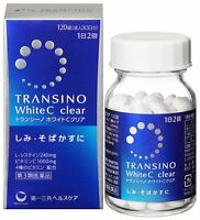 Transino White C Clear 120 tablets Vitamin Whitening Supplement for 30 days