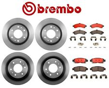 For Buick Chevy GMC Isuzu Front & Rear Brake Kit Disc Rotors Ceramic Pads Brembo