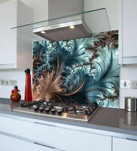 Printed Kitchen Glass Splashback - Toughened & Heat Resistant Cooker Panel 1067