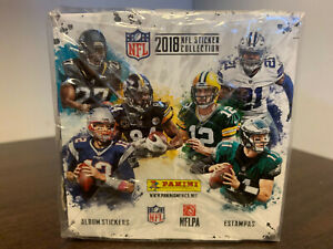 2018 Panini Sealed Box NFL Sticker Collection 50pks x 5 cards each Brand New